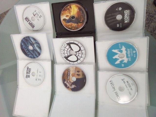 Dvd diversos originais Bela e a Fera Homem Aranha Ritmo fuga etc - Foto 2
