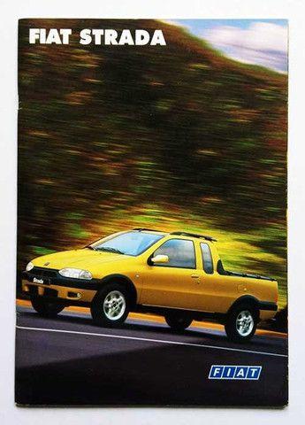 Fiat Strada LX, Trekking e Working - catálogo, folder, brochura - ótimo estado