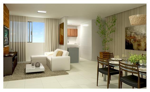 Residencial TOP no Gama de 1 qtos com Lazer Completo