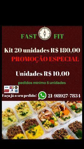 Fast fit comida saudável