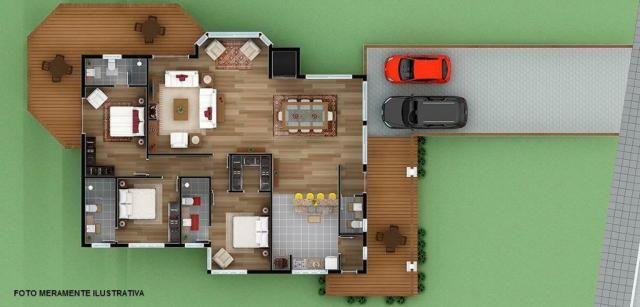 Casa residencial à venda, moura, gramado. - Foto 5