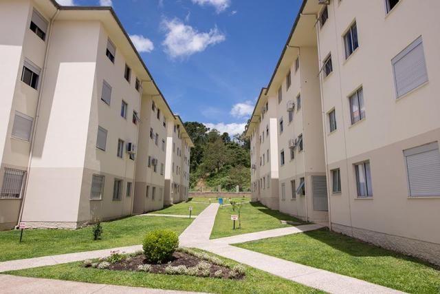 Apartamento à venda, 44 m² por r$ 150.000,00 - canelinha - canela/rs