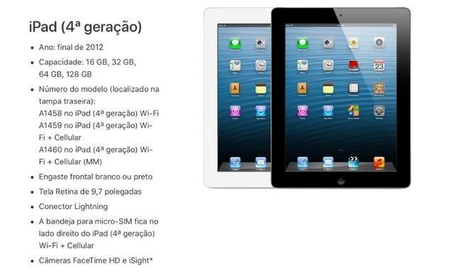 Vendo iPad 4 64 Gb (Wifi + Celular)