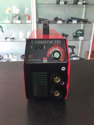 Máquina de Solda Inversora Bambozzi A Industrial 241 Bi-Volt(Nova) - Foto 2