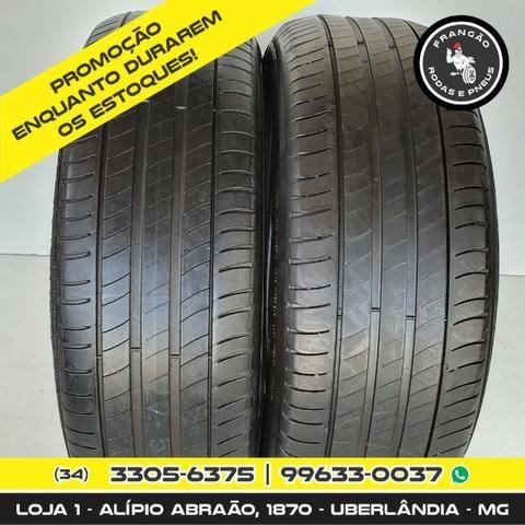 Vendo 2 Pneus 225/55 R18 Seminovos Michelin