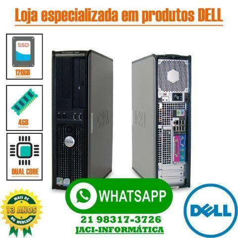 Computador Dell Optiplex Intel Core 4gb Ssd 120gb Wifi - Garantia - Entregamos