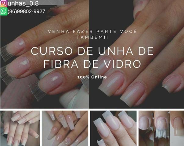 Curso de unhas de fibra de vidro - Foto 2