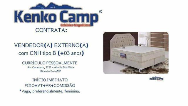 Vaga kenkocamp colchões