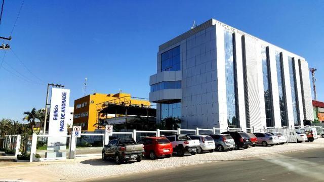 Sala Comercial 110m² Edifício Corporativo  no Sia Tr 03 portaria com segurança  armada -vi