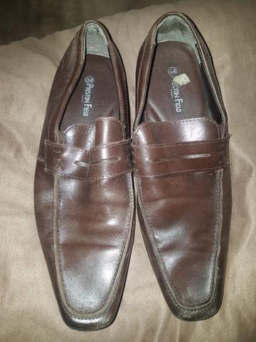 3aa993082c Sapato Social Couro VR Masculino  COR CAFÉ - Roupas e calçados ...