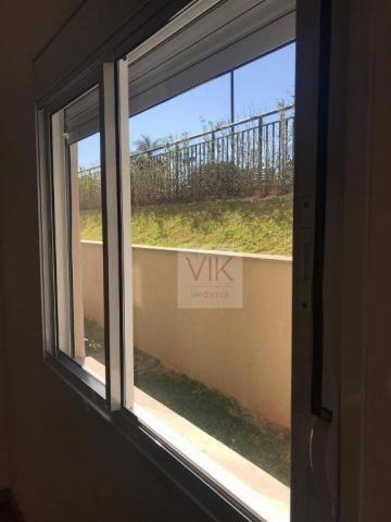 Apartamento com 2 dormitórios para alugar, 86 m² por r$ 2.400/mês - jardim ypê - paulínia/ - Foto 17