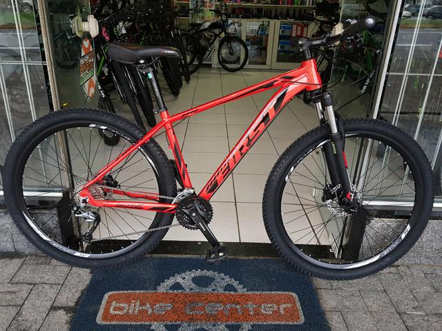 Bicicleta aro 29 first active 27 velocidades shimano acera