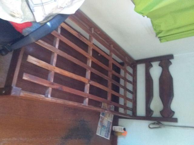 Cama de solteiro de sucupira com colchão - Foto 2