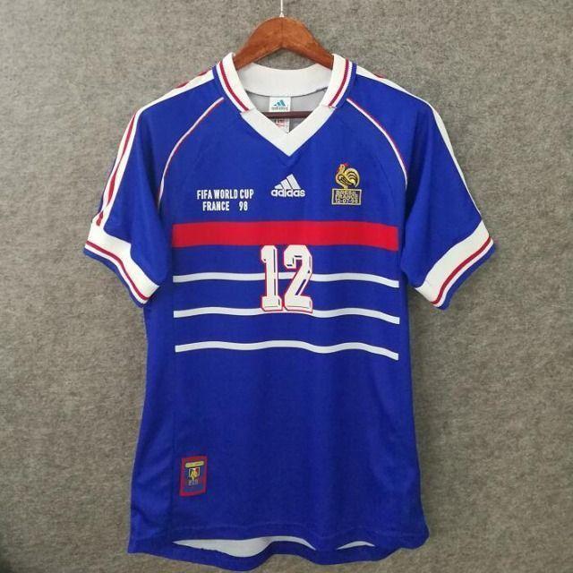 Camisas França Retrô Diversas Copas, Euro, jogadores históricos - Foto 4