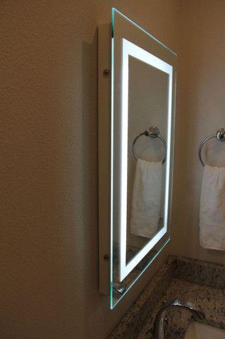 Espelho Retangular Led com Iluminação - 0,80cm x 0,60cm - Foto 3