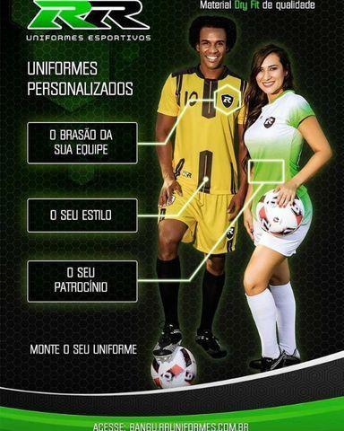 Uniformes de futebol personalizados - Foto 3