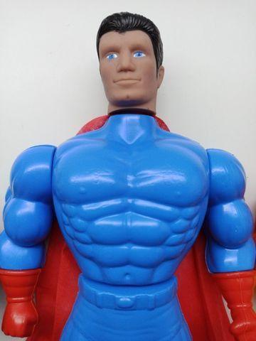 Bonecos X Neon Cyber Black Man Super Heros 41cm Plástico - Foto 3