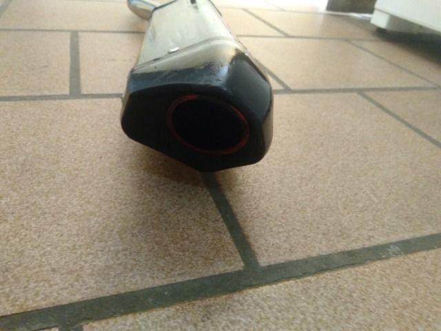 Cano de Moto com ponteira - Foto 3