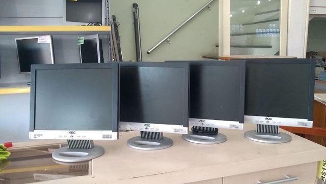 LOTE 10 Monitores LCD Funcionando - Foto 5