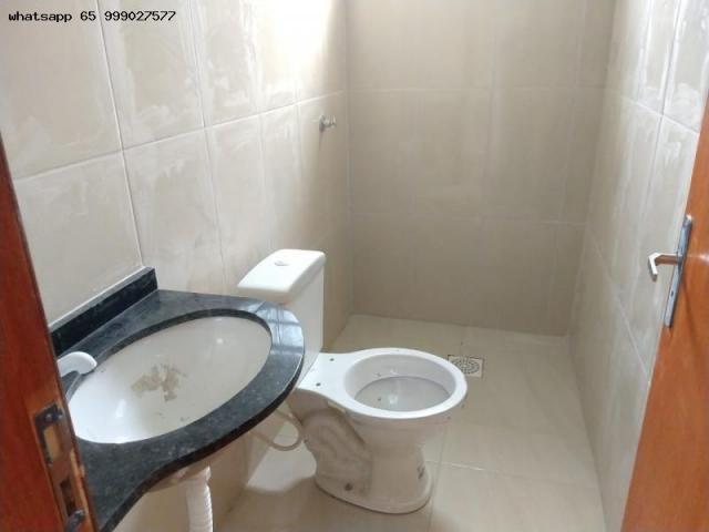 Casa para Venda em Várzea Grande, Novo Mundo, 2 dormitórios, 1 banheiro, 2 vagas - Foto 7