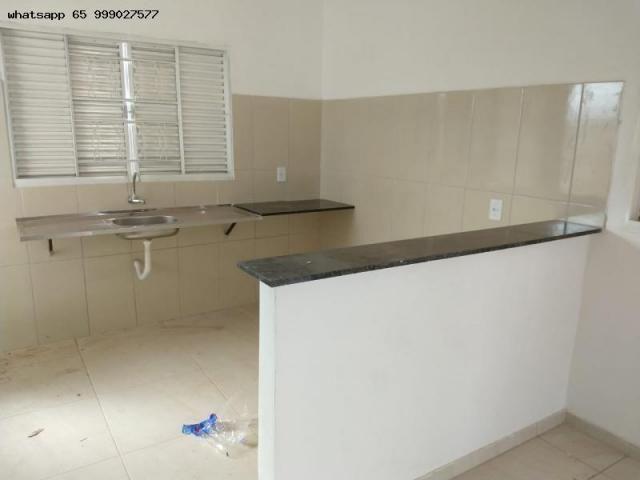 Casa para Venda em Várzea Grande, Novo Mundo, 2 dormitórios, 1 banheiro, 2 vagas - Foto 4
