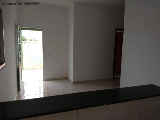 Casa para Venda em Várzea Grande, Novo Mundo, 2 dormitórios, 1 banheiro, 2 vagas - Foto 11