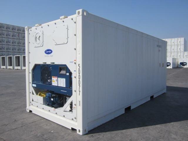 Locação container refrigerado 06 metros 20 pés -30°C congelado e resfriado - Foto 3