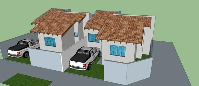 Casa nova no bairro Caiçara