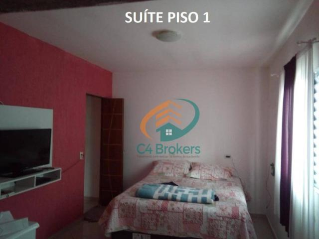 Sobrado com 3 dormitórios à venda, 120 m² por R$ 220.000,00 - Jardim Oliveira II - Guarulh - Foto 4