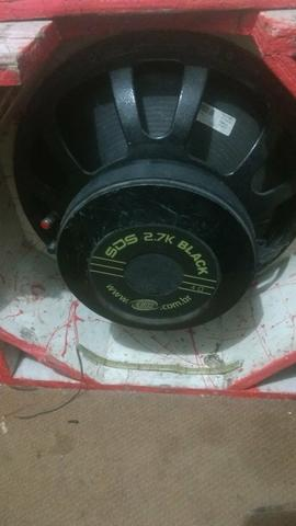 Sds Black 2.7 15 pol.4 ohms troco leia - Foto 3