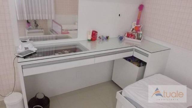 Casa com 3 dormitórios para alugar, 195 m² por R$ 2.605,00/mês - Residencial Real Parque S - Foto 19