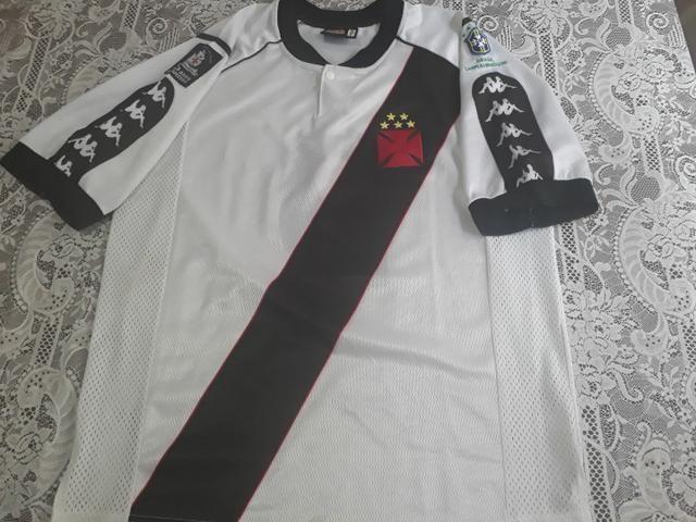 Camisa do Vasco da Gama Centenária 1998 - Foto 3