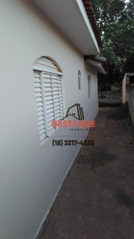 Casa com 2 dormitórios para alugar, 74 m² por R$ 800,00/mês - Conjunto Habitacional Ana Ja - Foto 7
