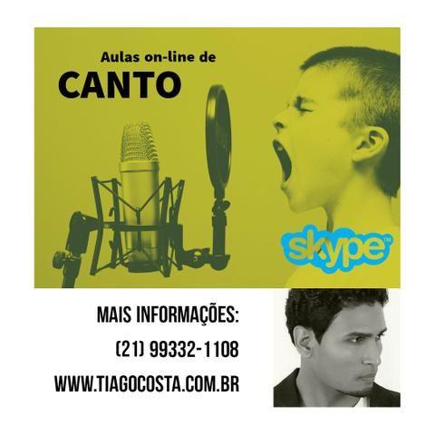 Aulas de canto online - Rio de Janeiro - RJ