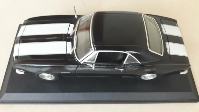 Maisto - Chevrolet Camaro 1967 - Escala 1:18 - Metal Collection Colecionadores - Foto 6