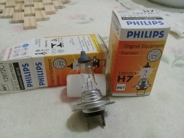 Lâmpada H7 forte 100w aceito cartão - Foto 2
