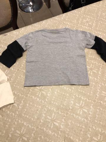 Kit 3 camisetas Tam 2 - Foto 3