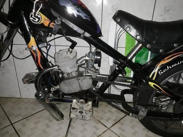 Bicicleta chopper motorizada R$1300 - Foto 3