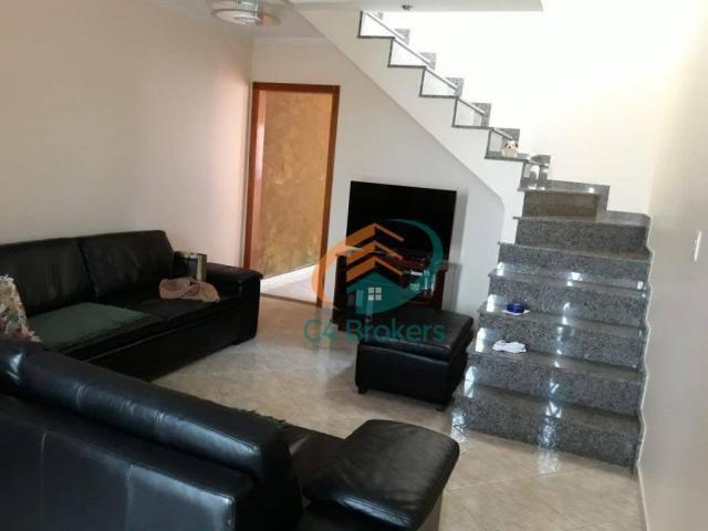 Sobrado com 3 dormitórios à venda, 165 m² por R$ 800.000,00 - Vila São Ricardo - Guarulhos - Foto 2