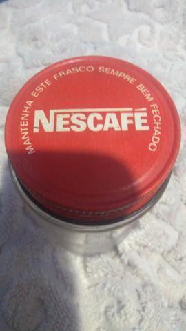 Vidro Nescafé antigo
