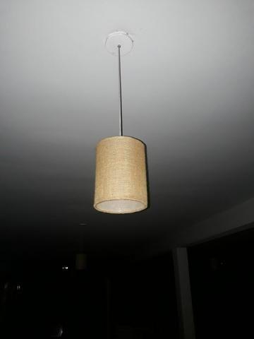 16 pendentes / luminária