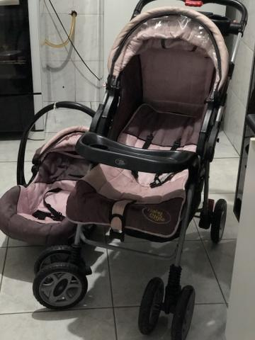 Carrinho de bebê ( menina) baby style - Foto 2
