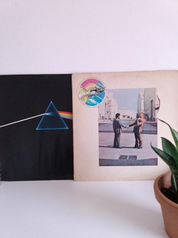 LP Vinil Pink Floyd The Dark Side Of The Moon (acompanha Wish You Were Here)