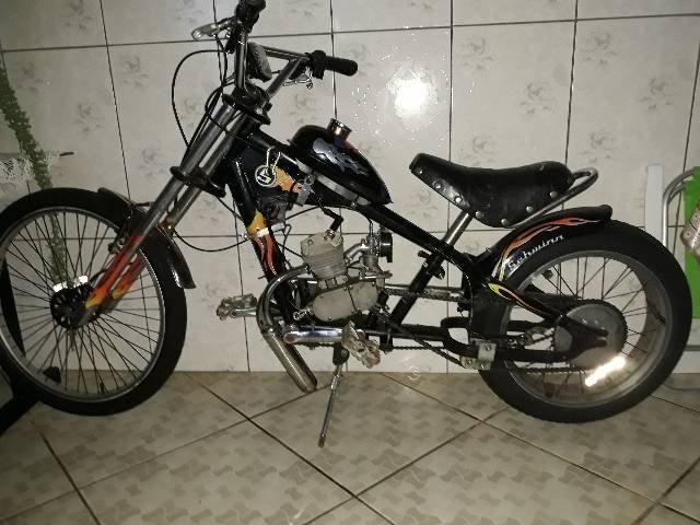 Bicicleta chopper motorizada R$1300
