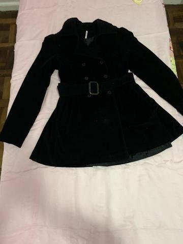 Lindo casaco de veludo tamanho P/M - Foto 2