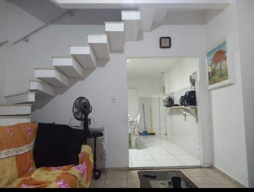 Casa de vila com varanda, 93mts 2 quartos com garagem - Foto 8