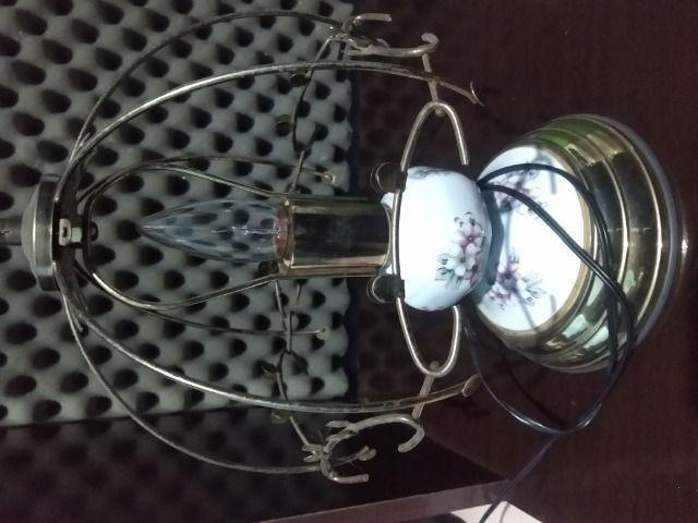 Luminária relíquia