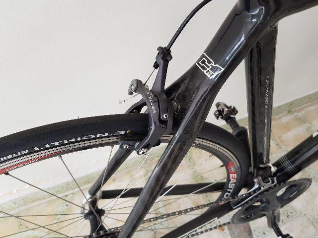Bike Scott Speed Road Scott CR1 Pro Full Carbon tam 58 - perfeita - AC troca por mtb 29 - Foto 4