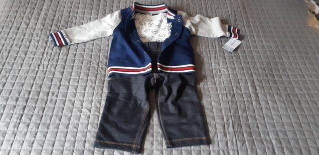 Conjunto Futebol Americano Baby boy Carter's