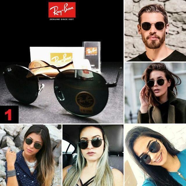 Óculos de Sol Rayban RB3447 Round com Proteção UV